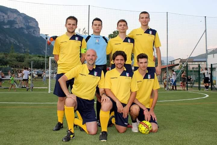 La squadra a Brentino Belluno