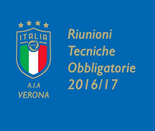 Date RTO per l'anno 2016/2017