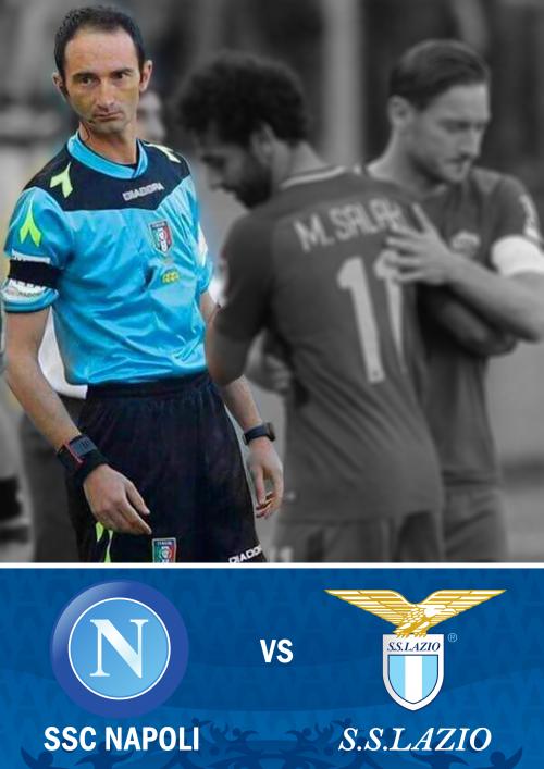 Designazioni Serie A: Napoli - Lazio al nostro Giorgio Peretti