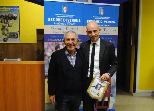 Verona con il componente CAI Gianluca Cariolato