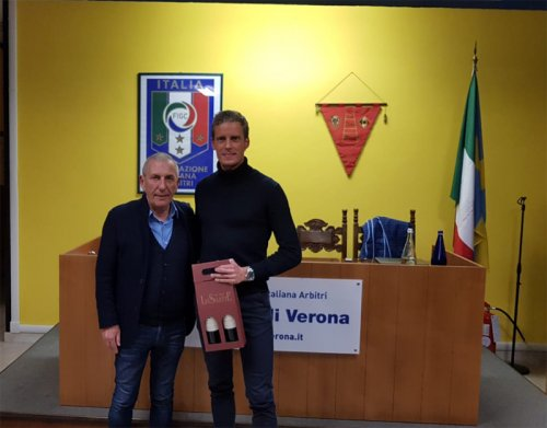L' umiltà di Daniele Chiffi tra gli associati di Verona