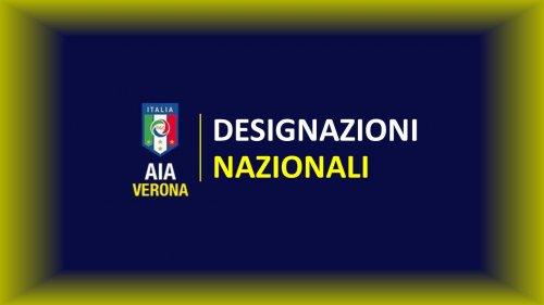 Designazioni Nazionali 7 e 8 Settembre