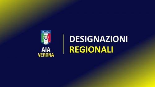 Designazioni Regionali 14-15 Settembre