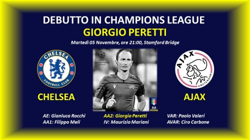 Champions League per Giorgio Peretti