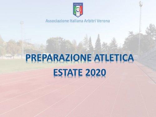 Preparazione Atletica Estate 2020